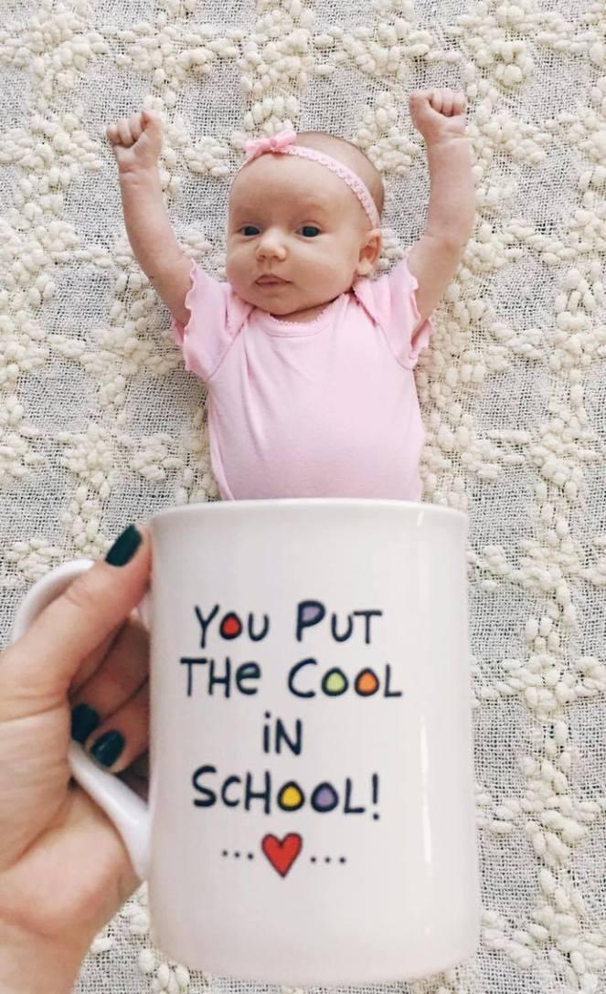 you ut the cool in school
